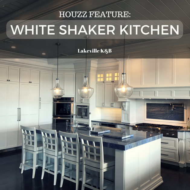 read below to see more of this white shaker kitchen remodel designed by