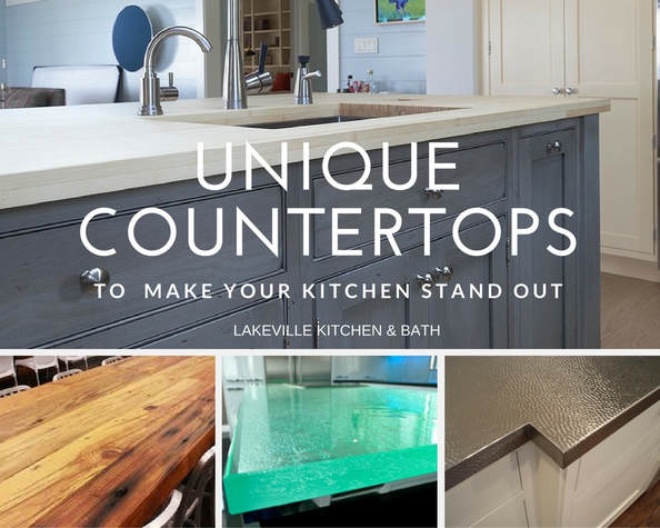 your countertops are one of the first things guests notice when they walk in your kitchen so why not spice things up with an unusual material