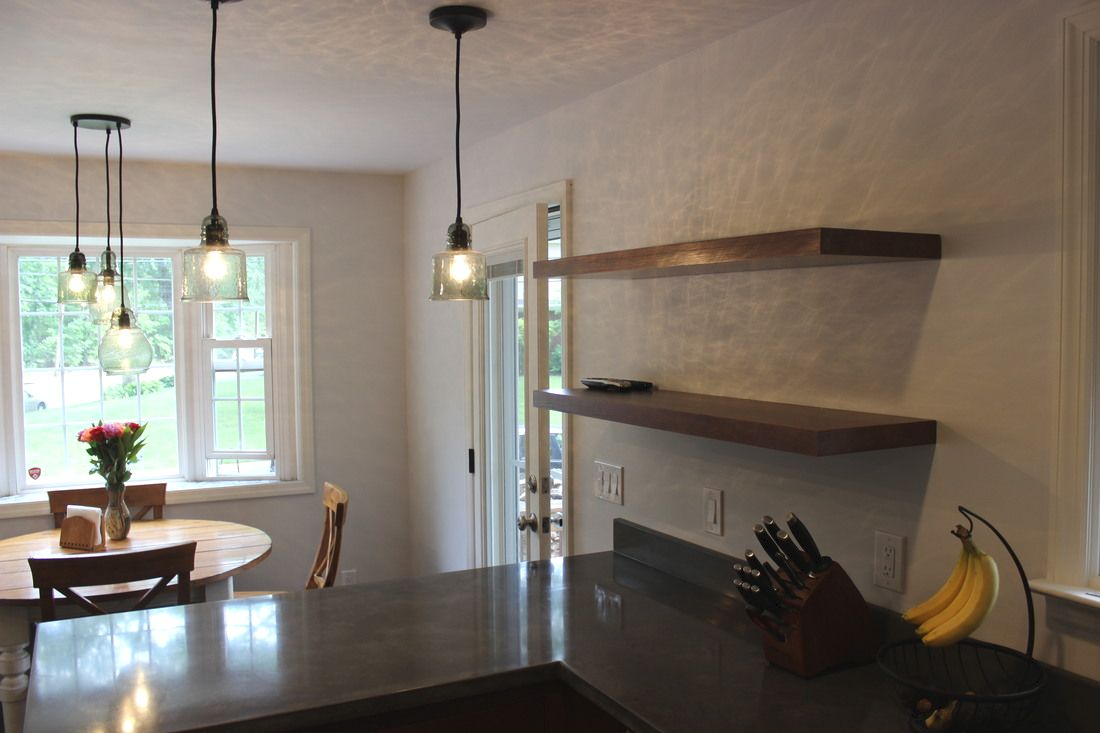Mounted Shelved, Open Shelving, Lakeville Kitchen and Bath