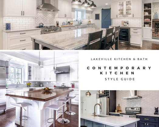 Contemporary Kitchen Style Guide by Lakeville Kitchen and Bath