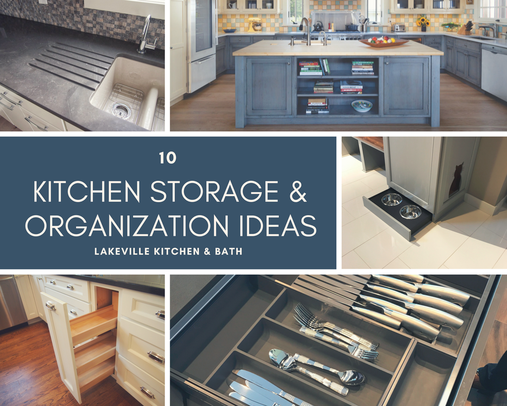 Kitchen Storage and Organization Ideas by the Cabinet Experts at Lakeville Kitchen and Bath