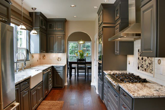 Plain and Fancy kitchen cabinets at Lakeville Kitchen and Bath of Lindenhurst and Smithtown.