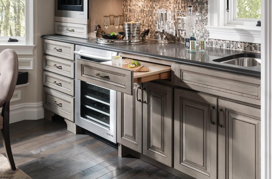 custom kitchen cabinets new york medallion cabinetry lakeville kitchens island 8534