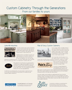 Lakeville Industries offering fine kitchen and bathroom cabinetry and amazing showroom displays to Long Island.